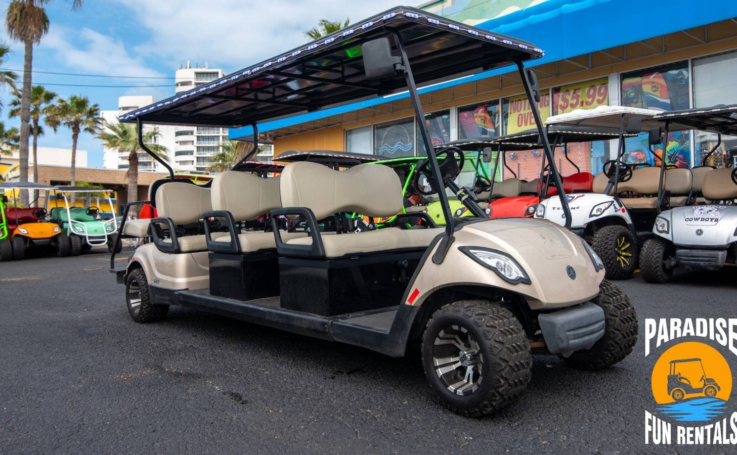 Why A Golf Cart Is The Best Way To See SPI